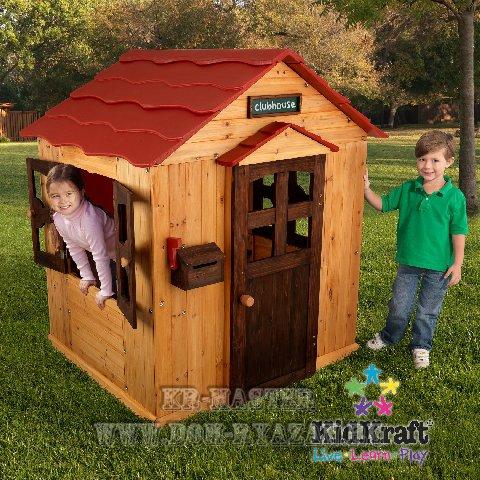 Детский домик из дерева своими руками: строительство избушек 36